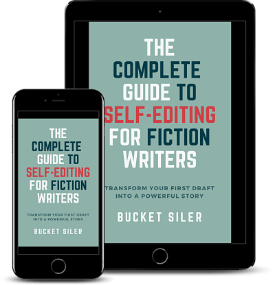 Complete Guide to Self-Editing for Fiction Writers ebook mockup