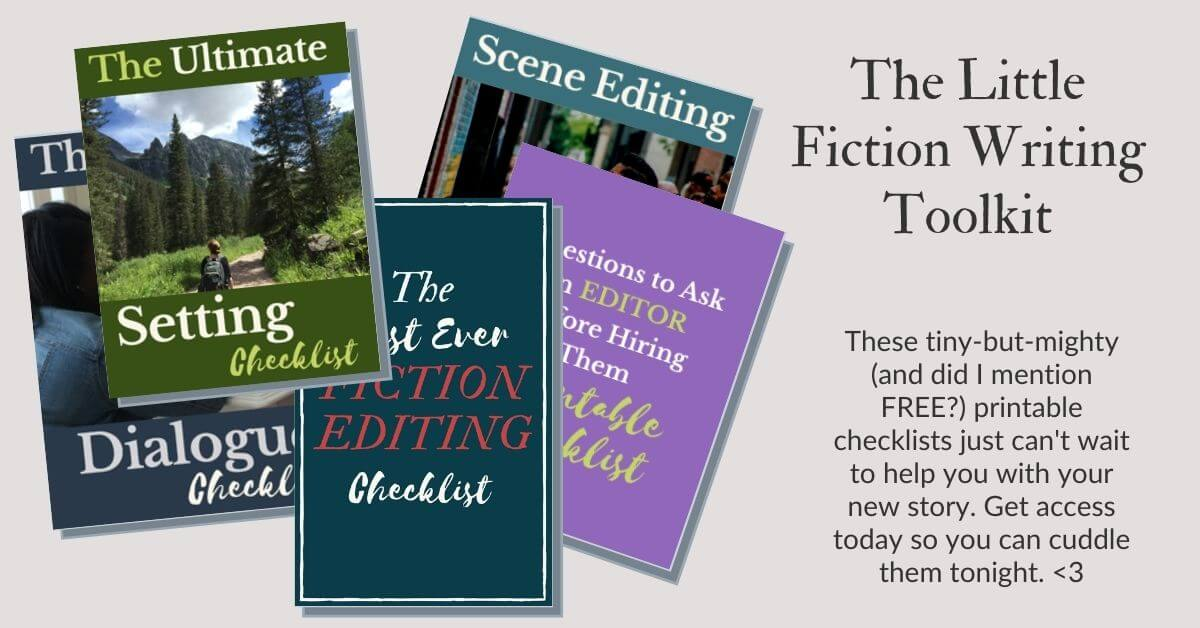 Fiction Writing Toolkit: Free downloads for fiction writers